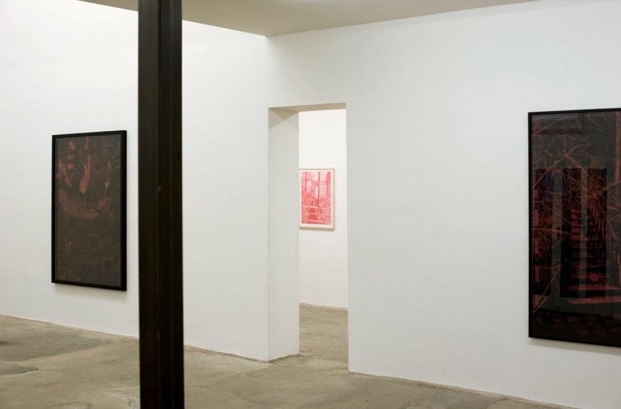 Morten Schelde hade separatutställning på galleriet med Alchemy in Reverse 2010.