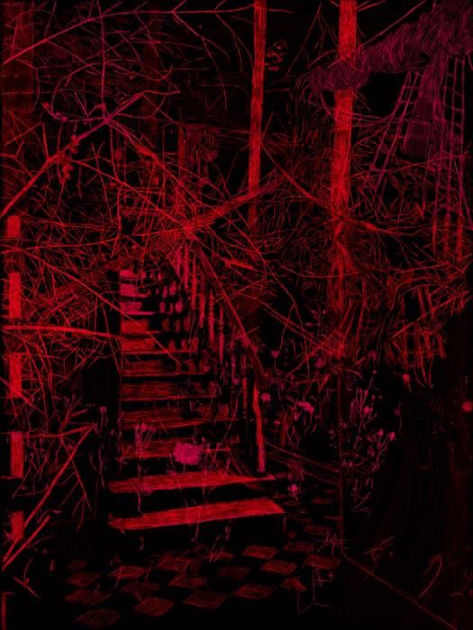 The staircase Berlin Lambdaprint