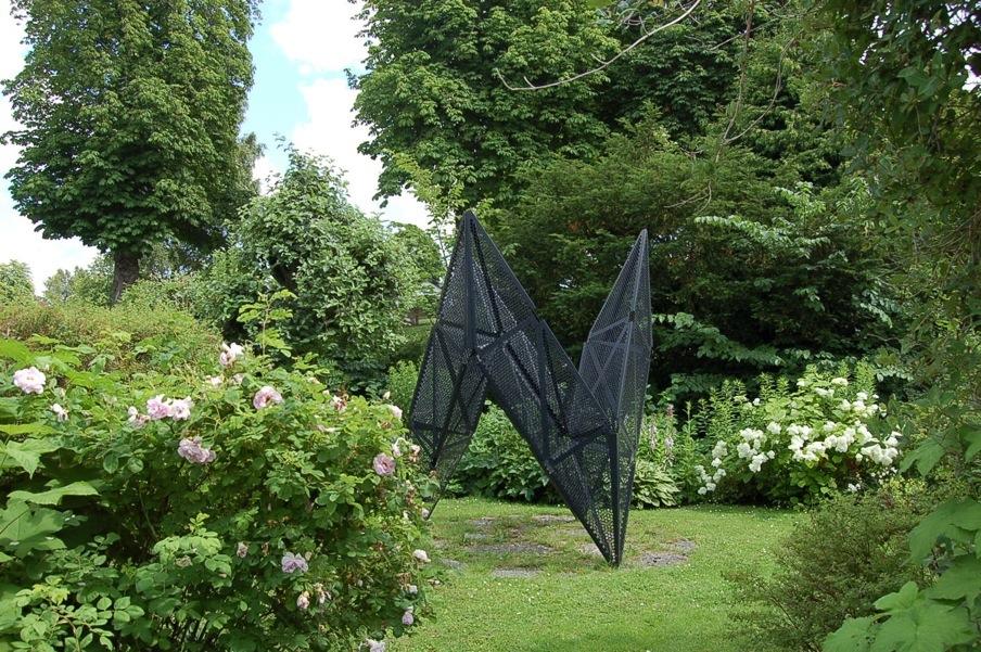 skulpturträdgård -