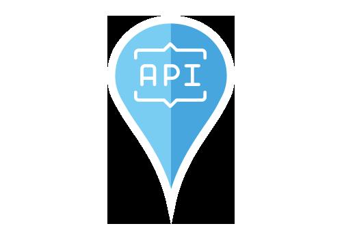 GET API - Mata in din webbplats och mobilappar med din aktuella platsdata. Känn dig trygg med att du alltid visar de mest uppdaterade informationen för era kunder utan något större manuellt arbete.