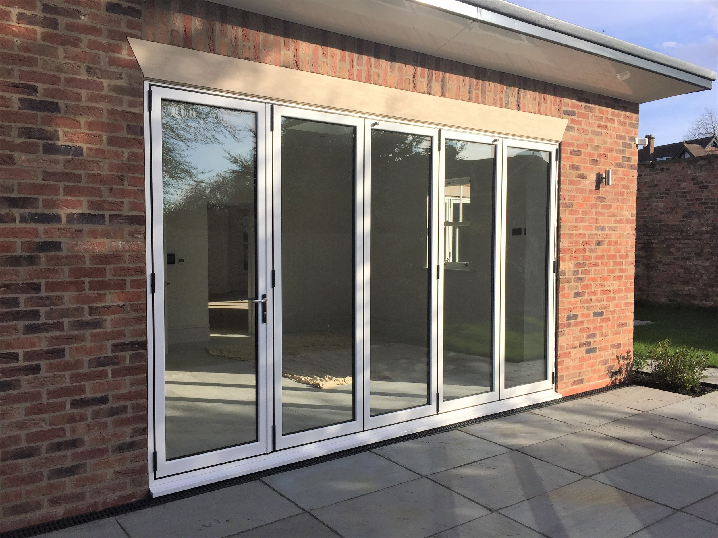 Revolutionary Warm-Core Folding Sliding Doors. - The beautiful, strong and secure door that's 25% more thermally efficient than the competition.Take a look at the Warm-Core brochure here for more information.