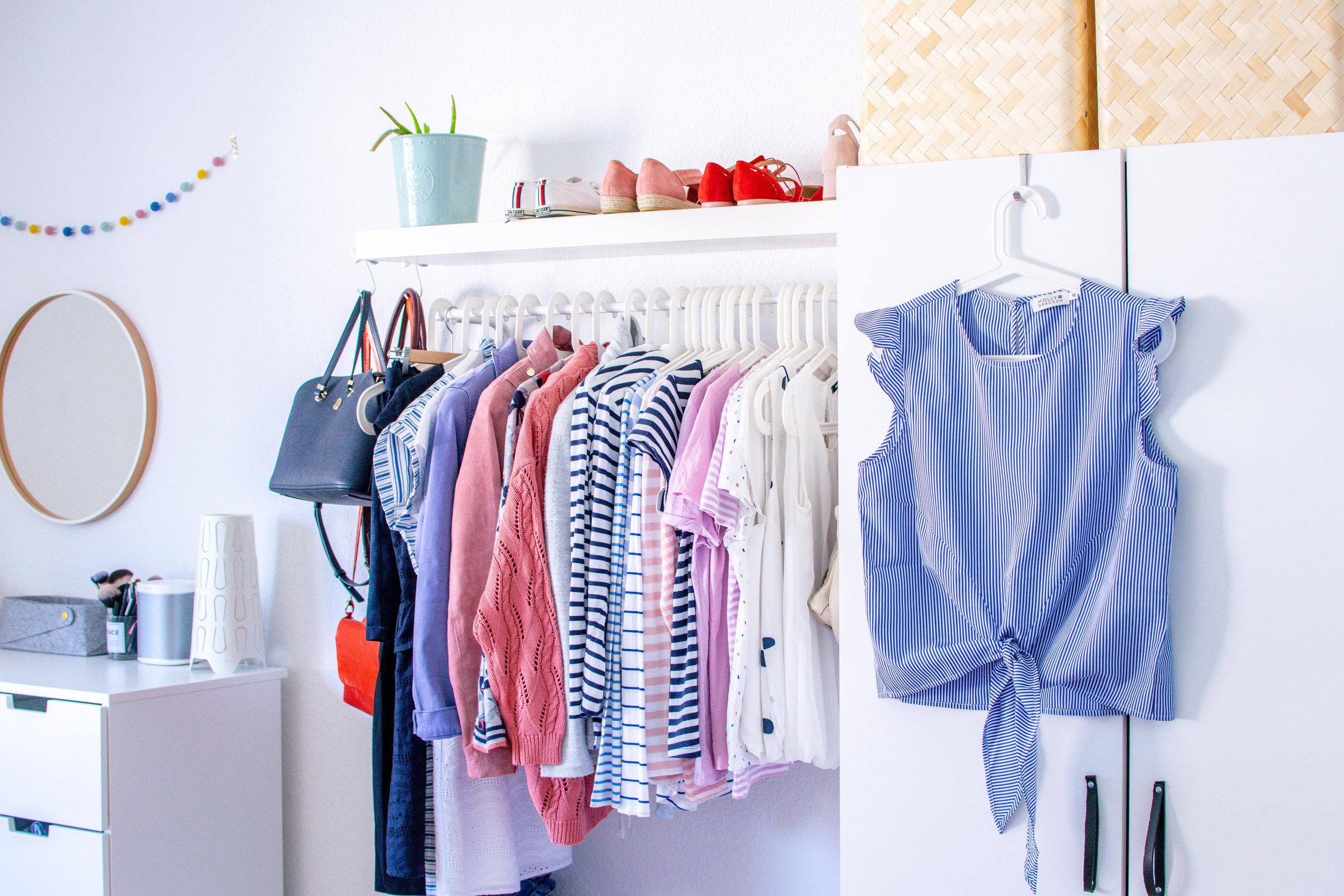 capsule wardrobe striped blouse shirt