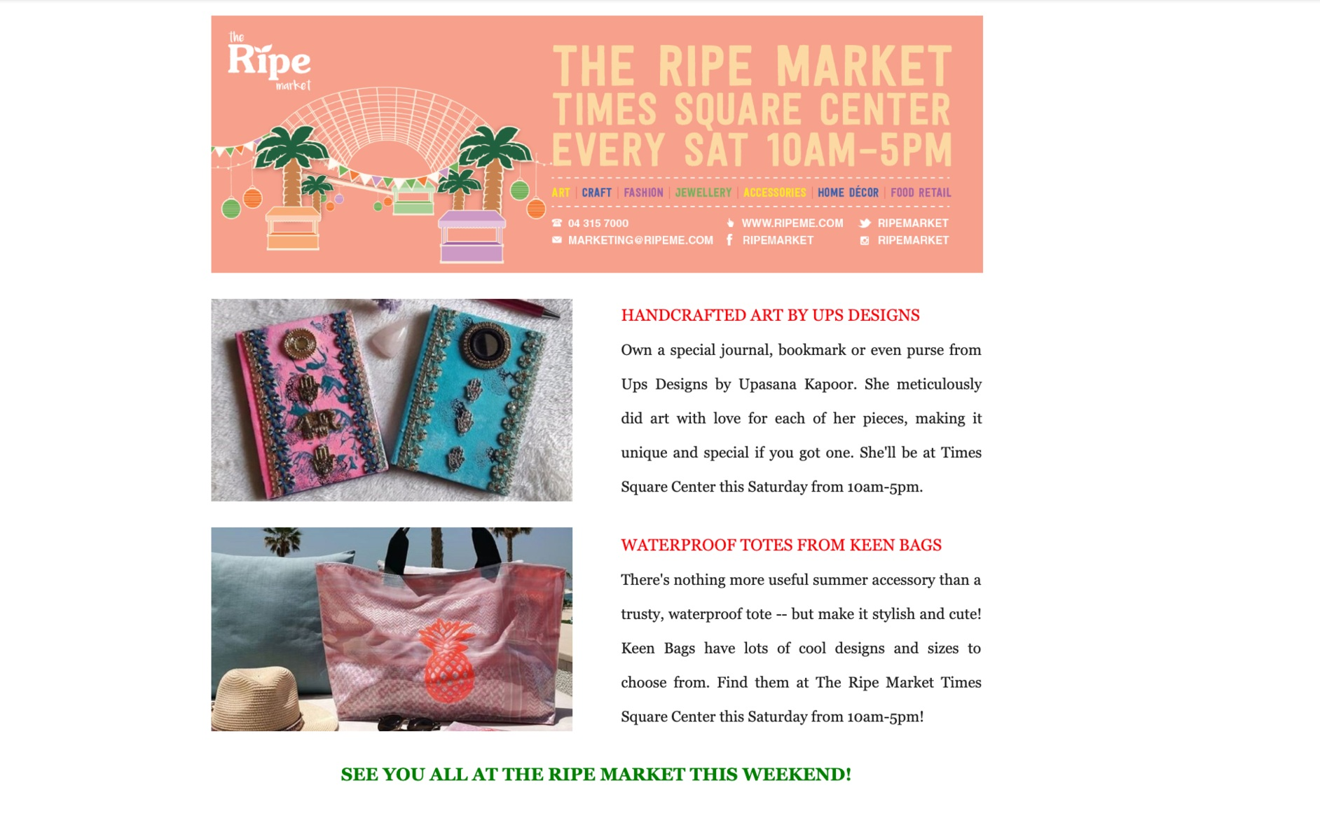 Featured on RIPE Market Newsletter - Read the full article here