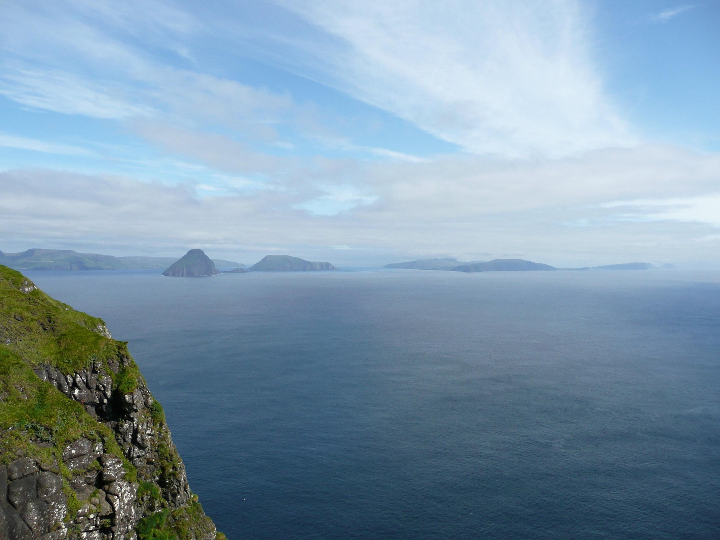 View from Trælanípan