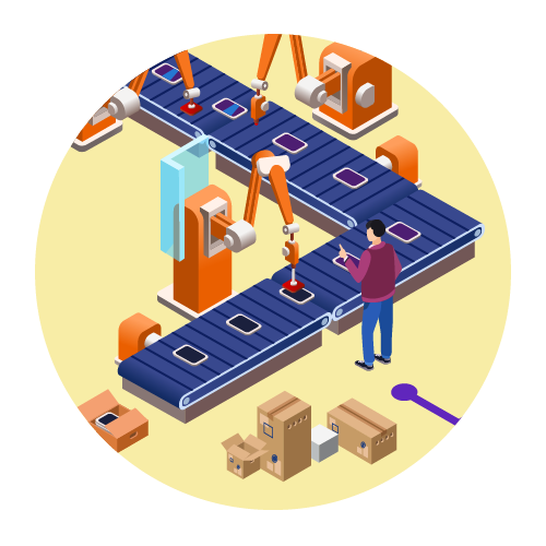 Production. - Your products enter production following final approval of the design.