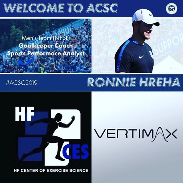 ATTENTION SERIOUS ATHLETES MEET YOUR COACH! Ronnie Hreha! Not only is he Asheville City Soccer Club's (NPSL) Goalkeeper Coach and Sport's Performance Analyst... he is your OPPORTUNITY to TRAIN TO THE NEXT LEVEL! For the summer, he will be here training athletes. At HF Center of Exercise Science, he will use his education and experience to TRAIN YOU! By combining @vertimax Explosive Movement Training and Polar Heart Rate Control, he will teach you how to be more effective in your sport! TRAIN LIKE A PRO in Asheville!Take full advantage of this high level training! Take full advantage of working with someone who really knows how to make you powerful! Train with Coach Ronnie! Go to our bio on IG or to our website to register! www.hfcenterofexercisescience.com Spaces will fill fast. #Ashevillecitysoccerclub #Hfcenterofexercisescience #vertimax #polarglobal #basketball #sportspecifictraining #soccer #volleyball #baseball #football #lacrosse #ashevillesports #828isgreat #avlfit #asheville #trainsmart #avlsports #athlete #studentathlete #collegeathlete