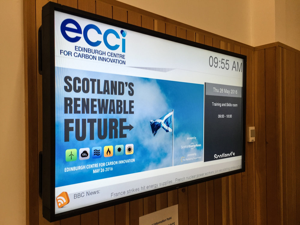 Using the ECCI screen on day of event
