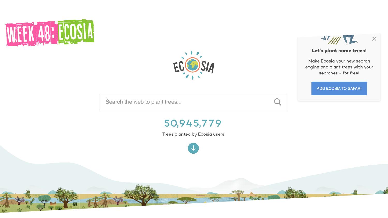 IYM Week 48: Ecosia