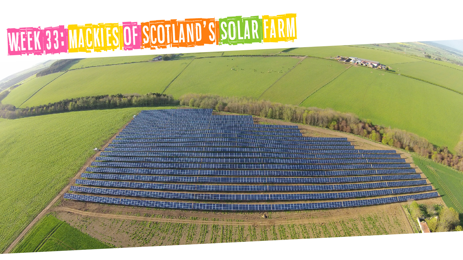 IYM Week 33: Mackies of Scotland's Solar Farm