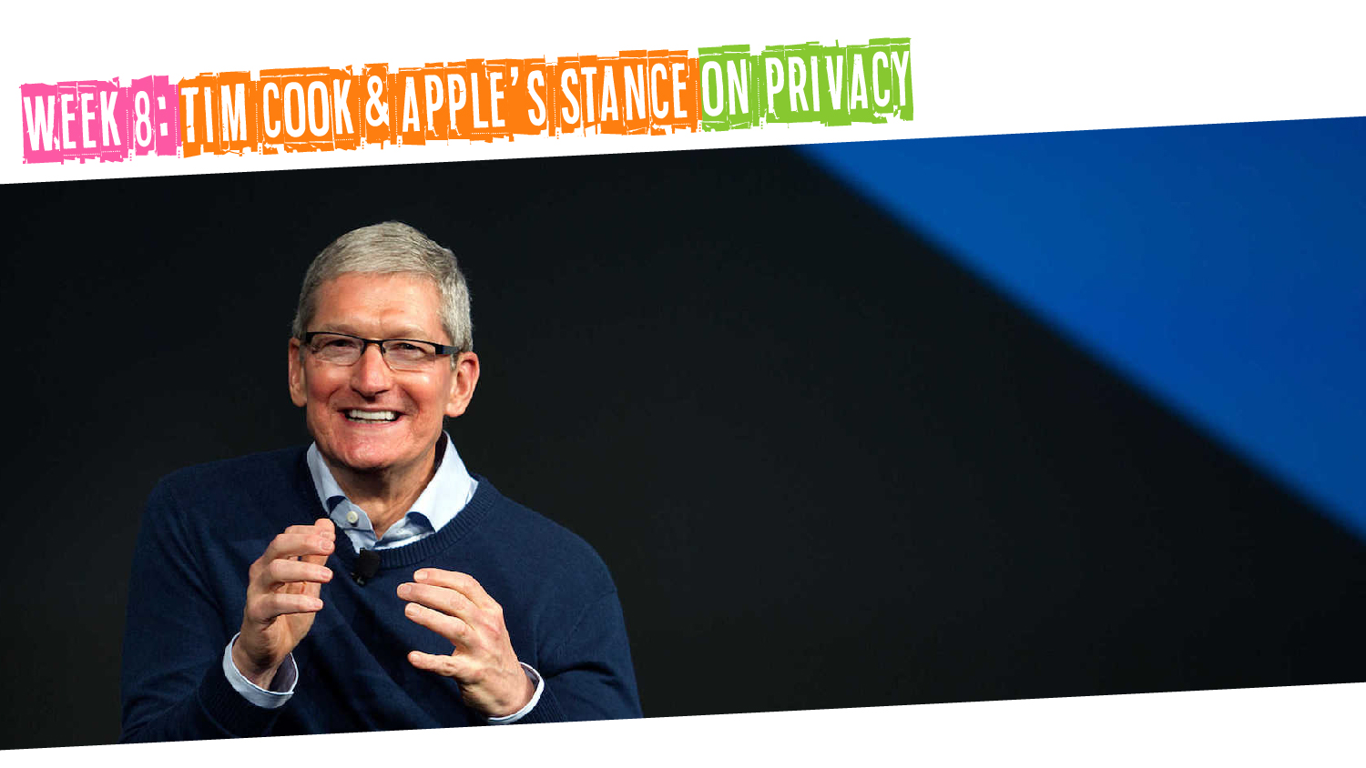 IYM Week 8: Tim Cook & Apple's Stance on Privacy