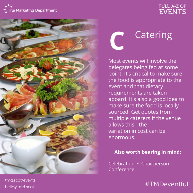 EventFull: C is for Catering