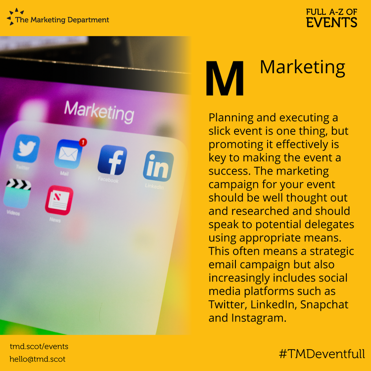 EventFull: M is for Marketing