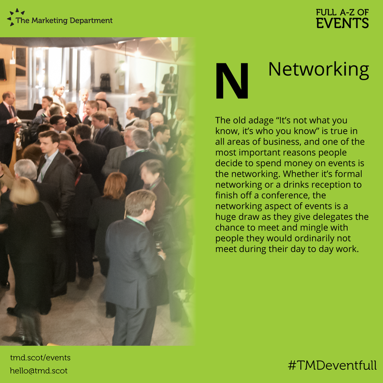 EventFull: N is for Networking