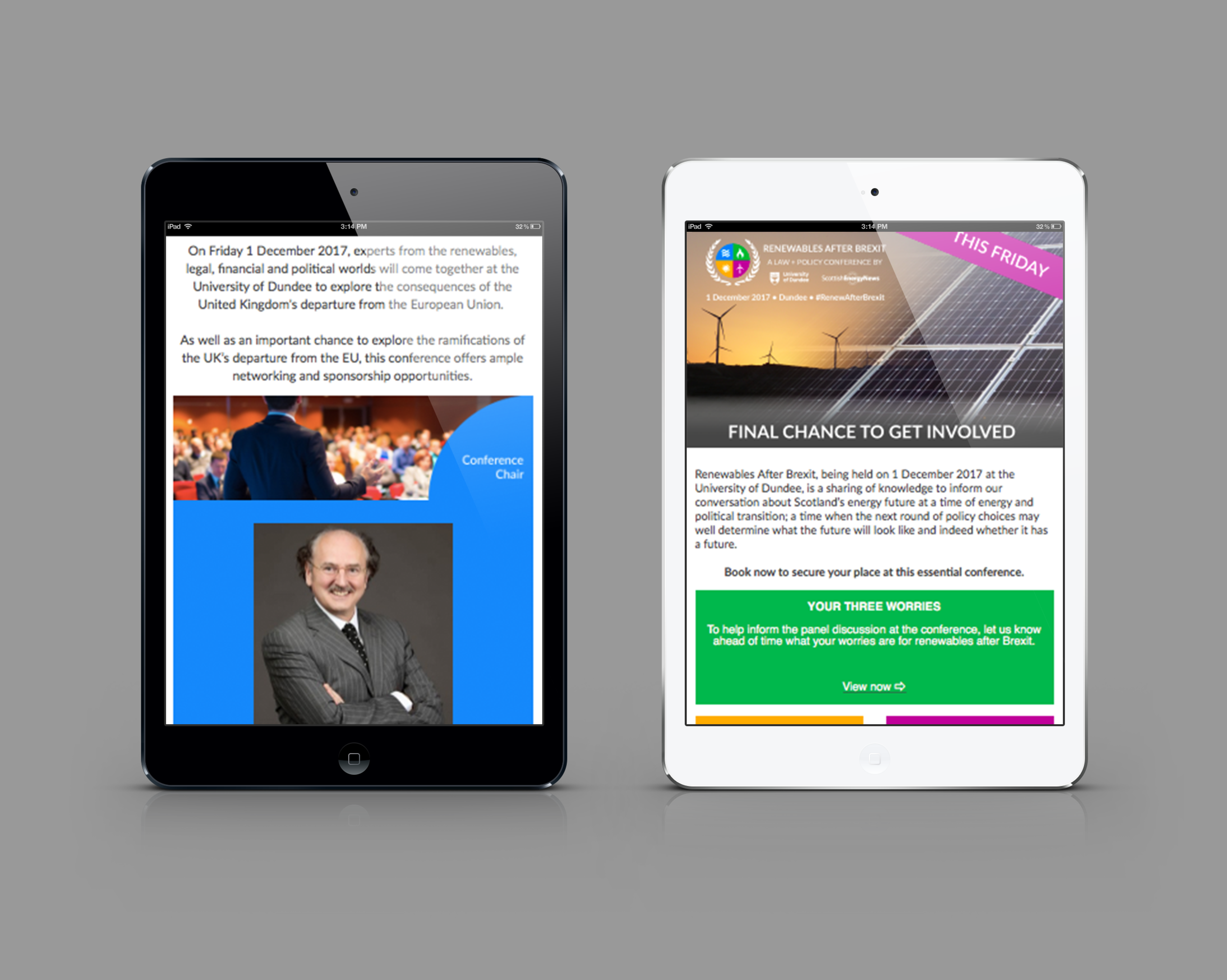 Promotional newsletters
