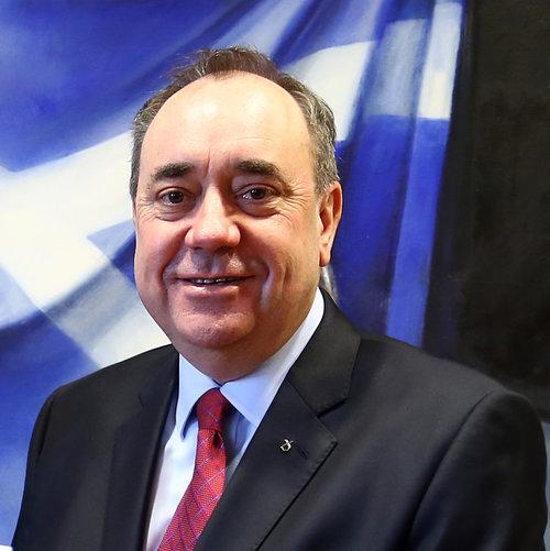 Alex Salmond, former First Minister of Scotland