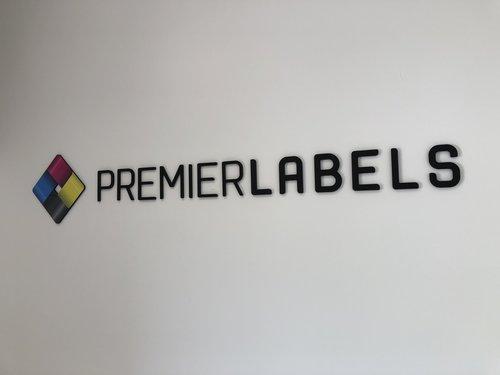 Premier Labels interior signage