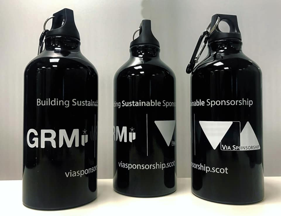 Water bottles for event participants