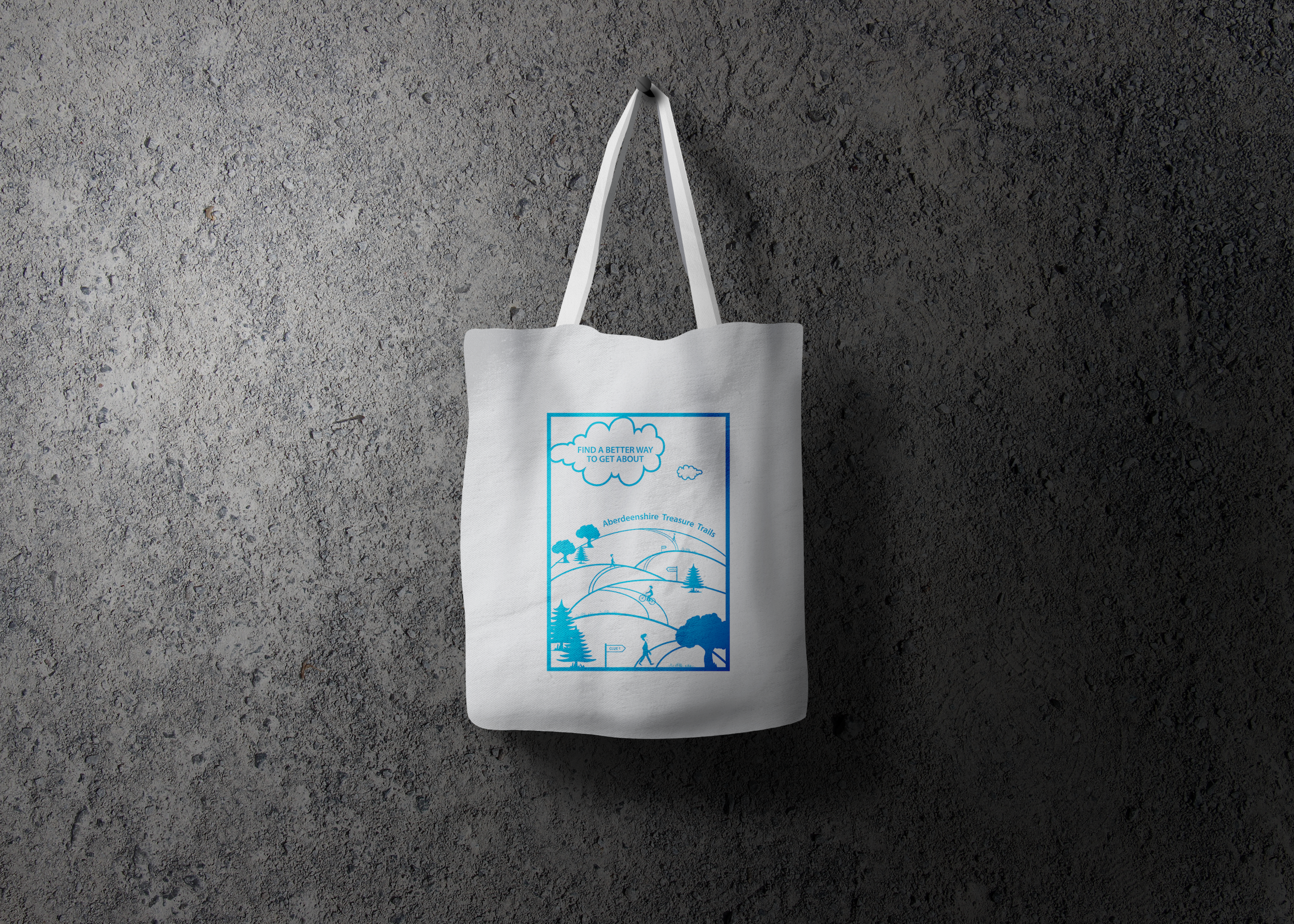 Aberdeenshire Council GetAbout tote bag