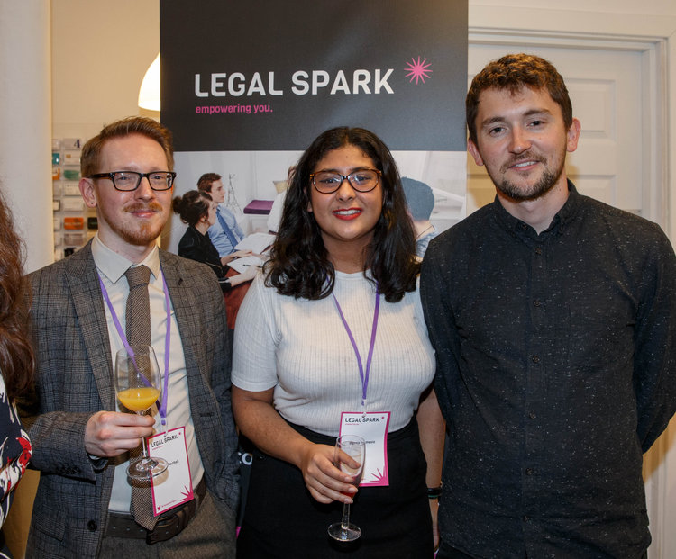 Legal Spark launch event photography