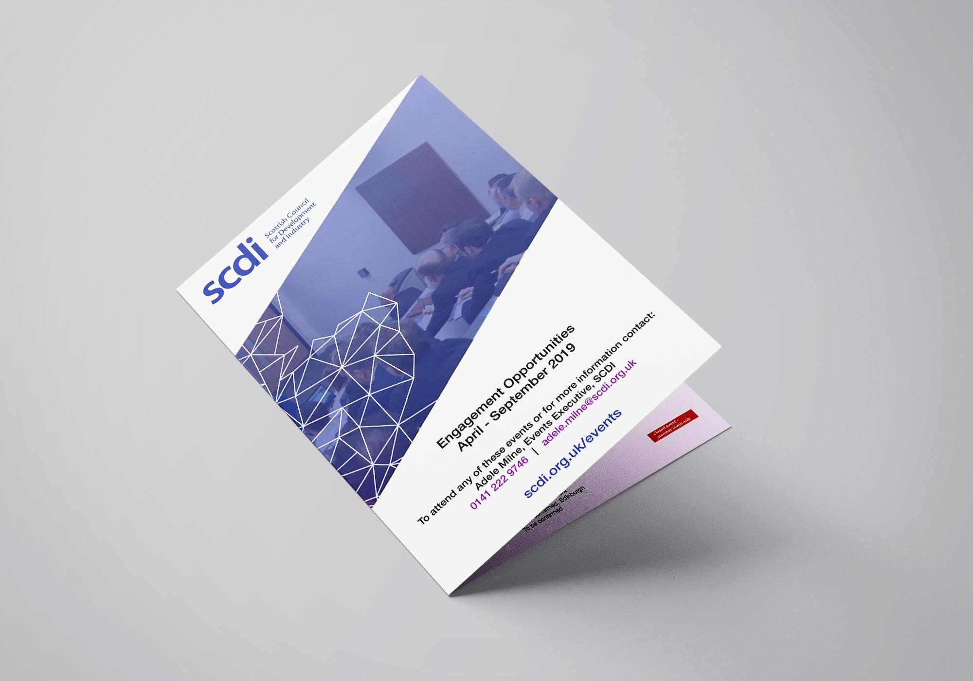 Events Brochure: April - September 2019