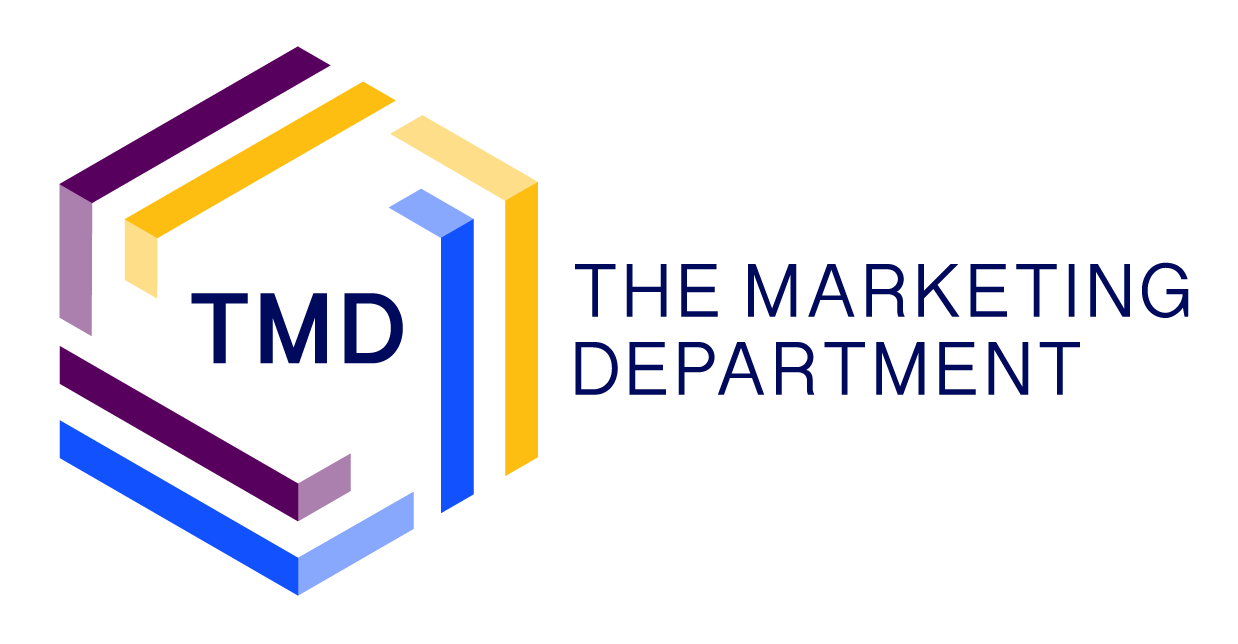 New TMD brand-mark, stacked version