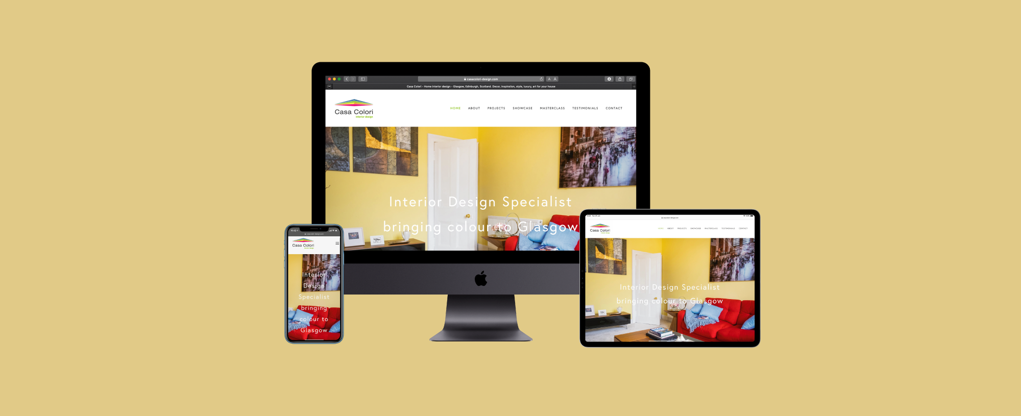 Casa Colori Website