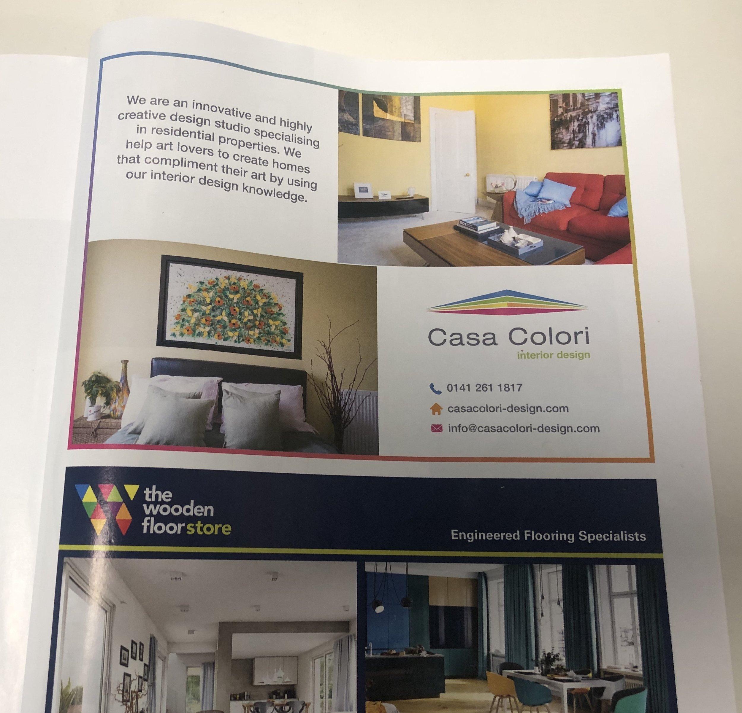 Homes & Interiors Advert