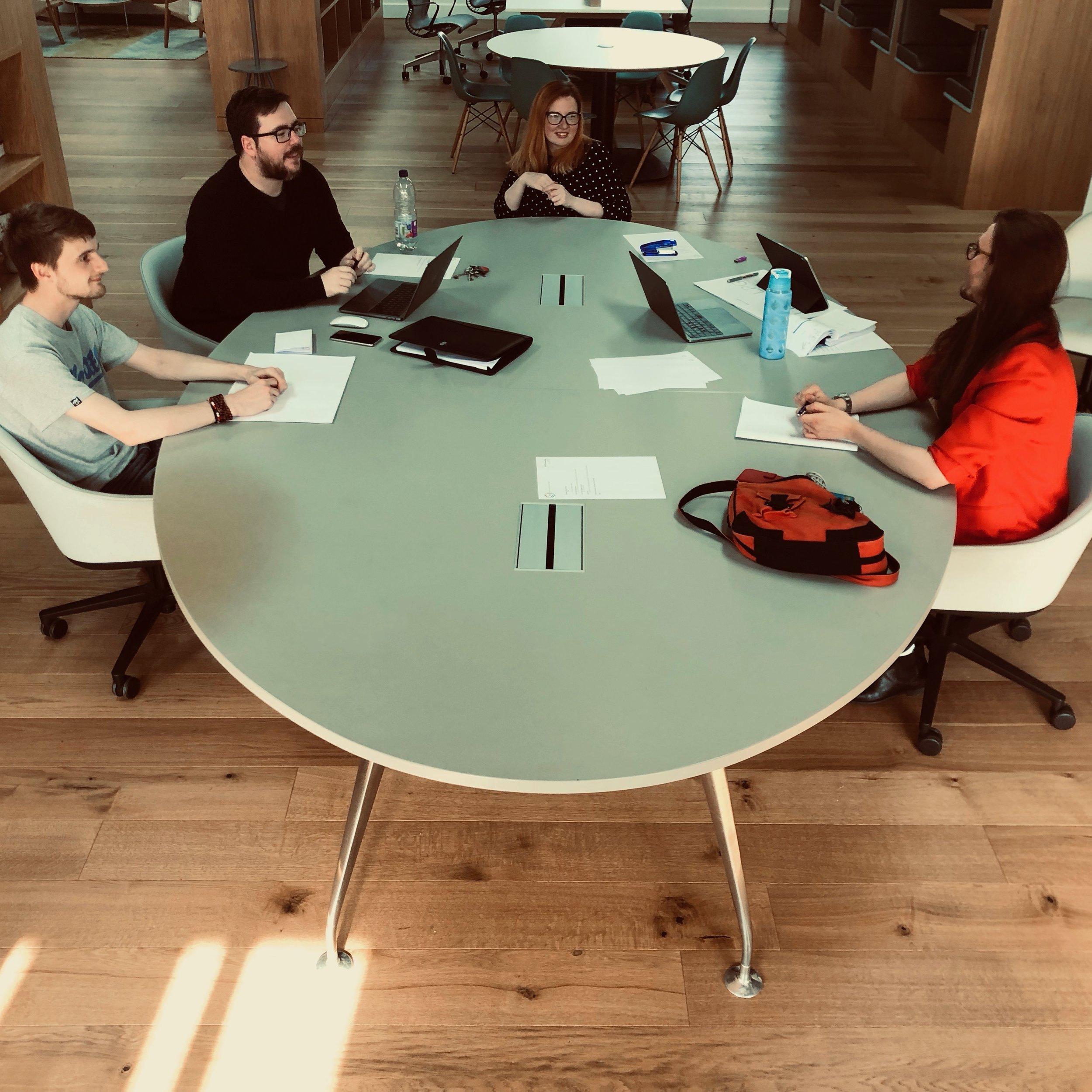 LPG Branding meeting