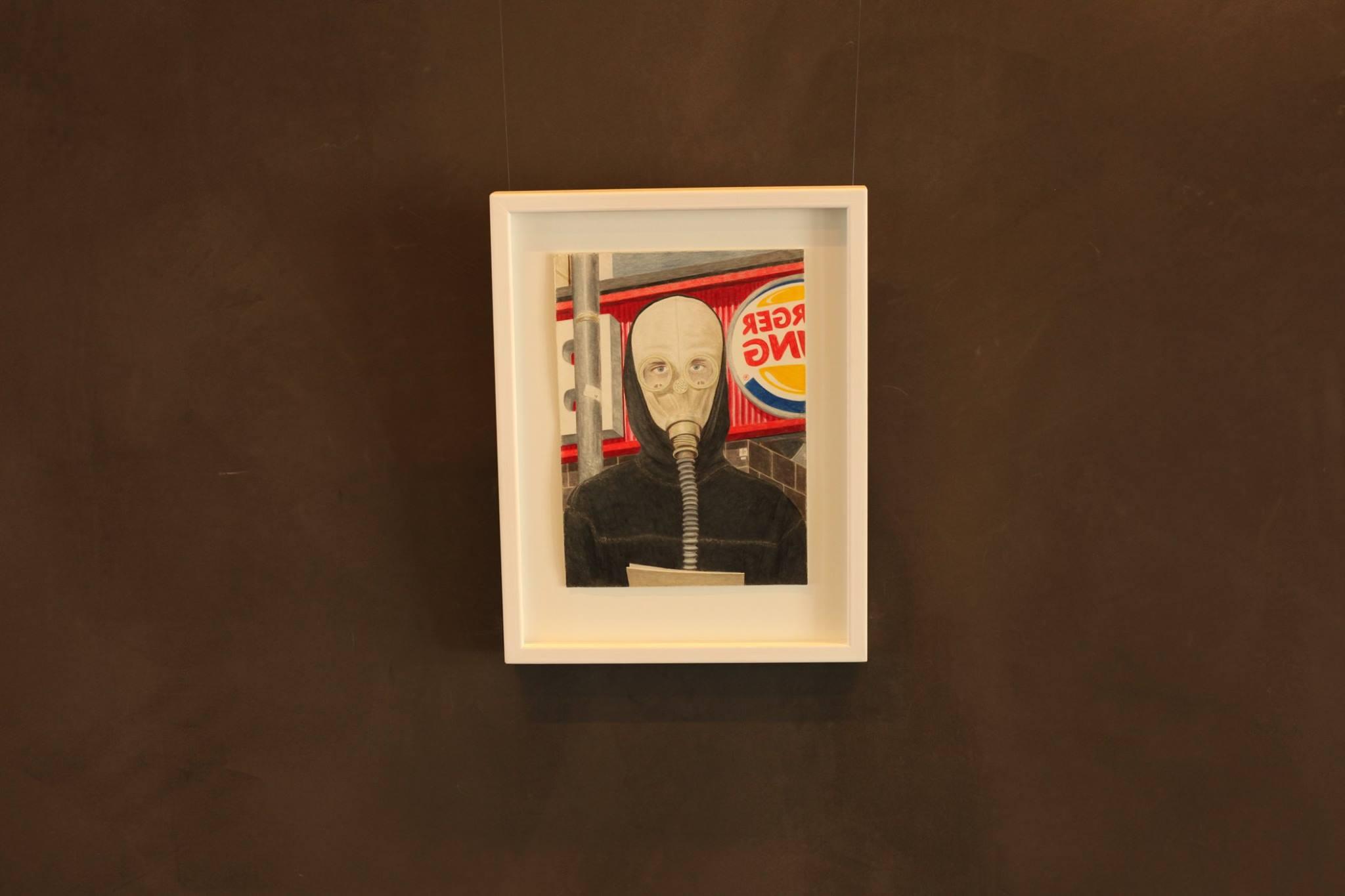 Pascal Mayet - Selfportrait in Gasmansk - Strøget.jpg