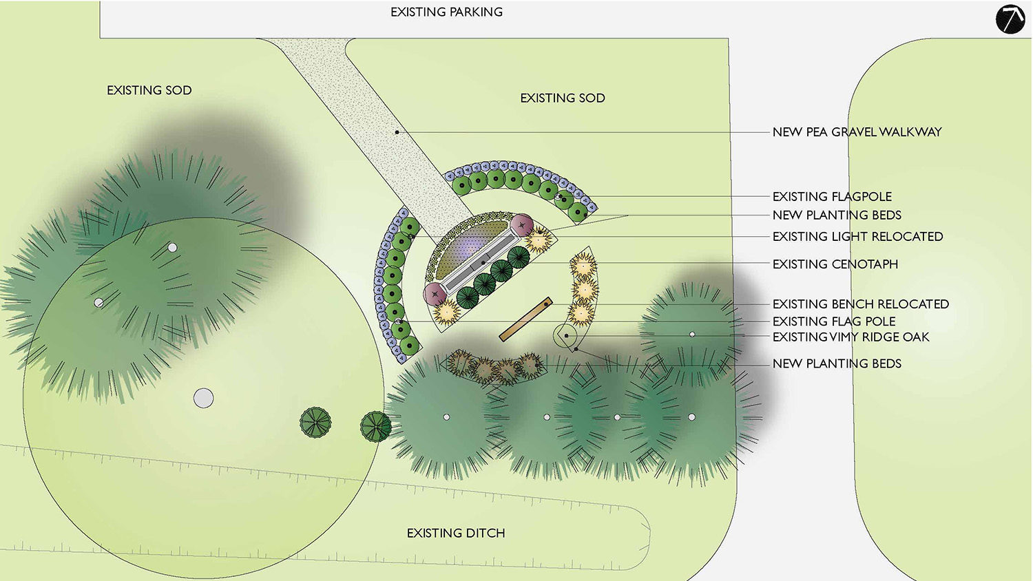 Proposed planting concept