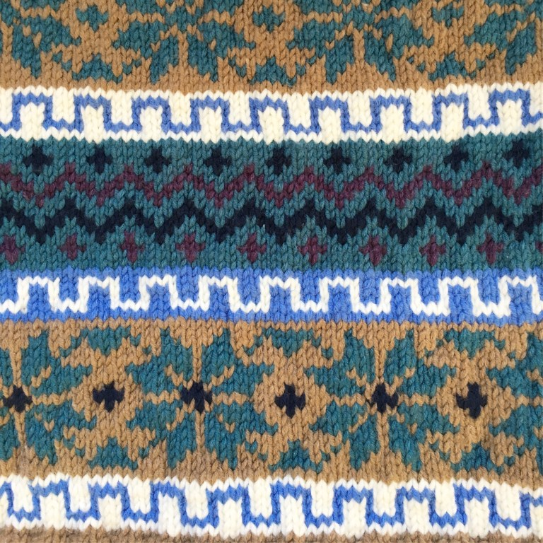 Fair Isle jumper for my husband: the warmest jumper EVER