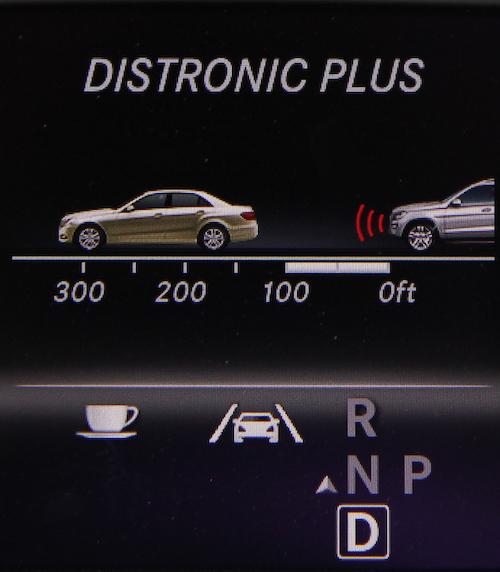 mercedes benz adaptive cruise control