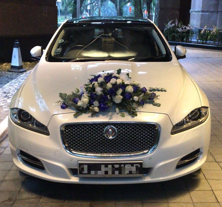 jaguar wedding car