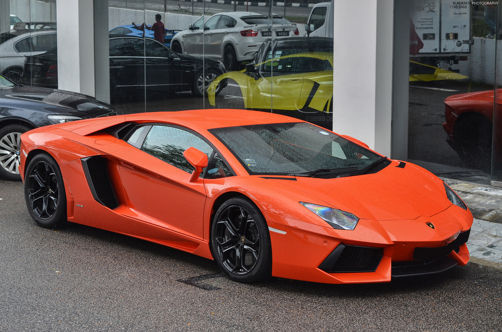 For about 23k SGD monthly, you can rent a Lamborghini Aventador
