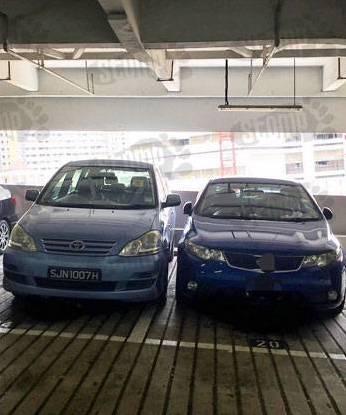 parking goondu