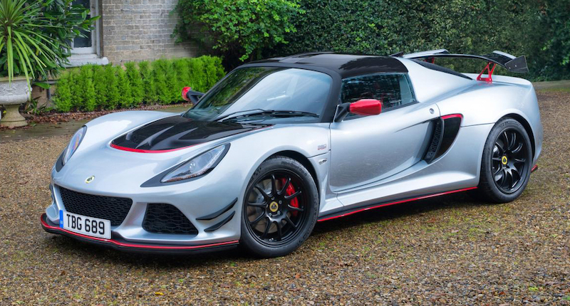 The mighty Lotus Exige