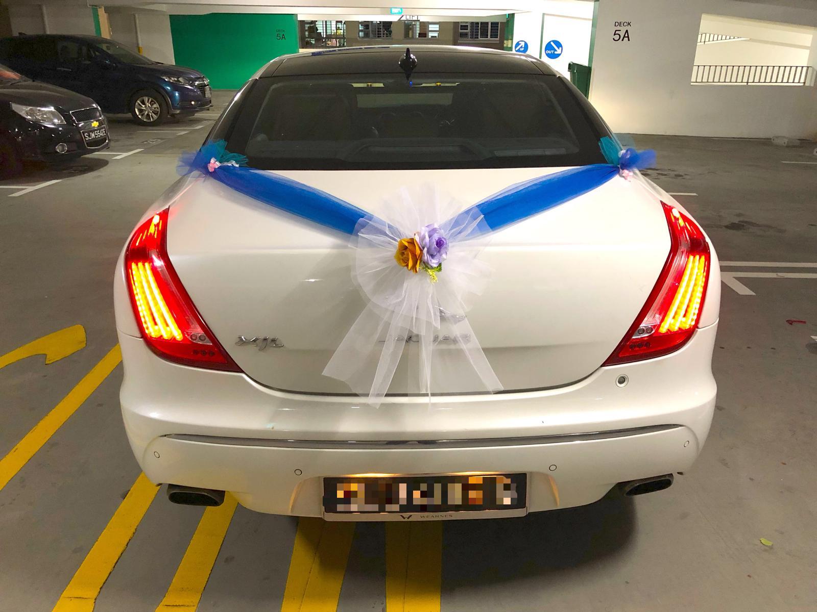 Jaguar XJL wedding car