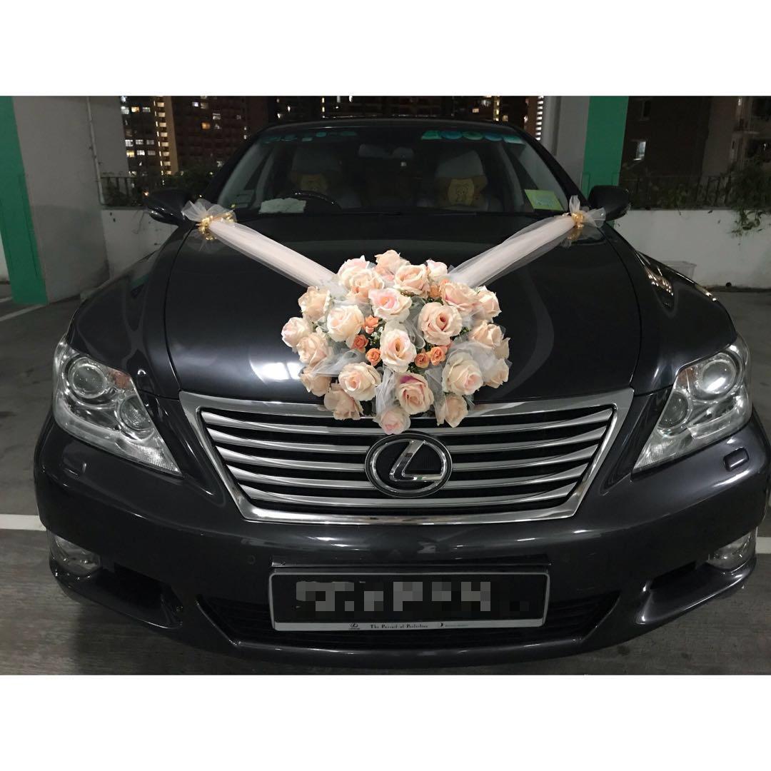 Lexus wedding car