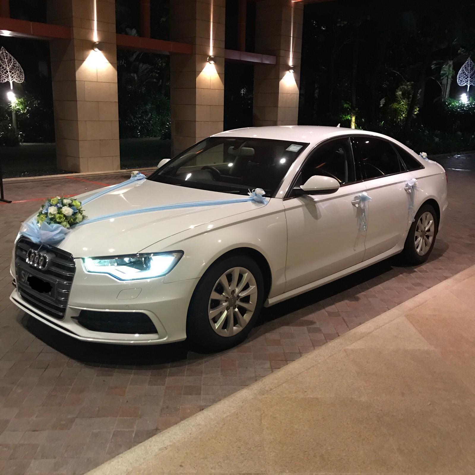Audi A6 bridal car