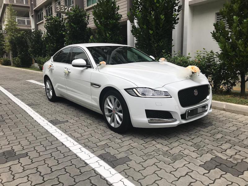 2018 Jaguar XF Wedding Car