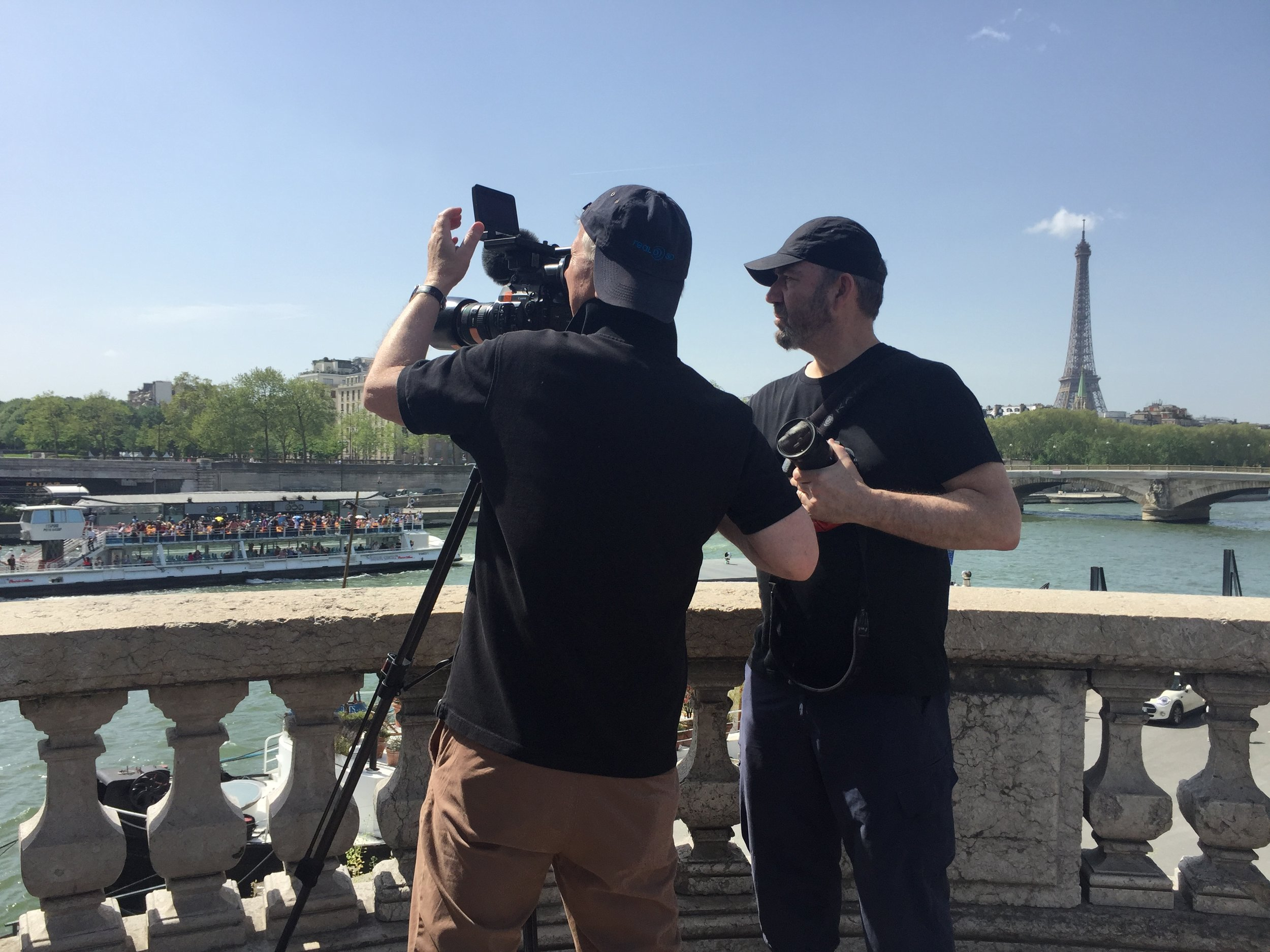Filming in Paris © EXHIBITION ON SCREEN.jpg