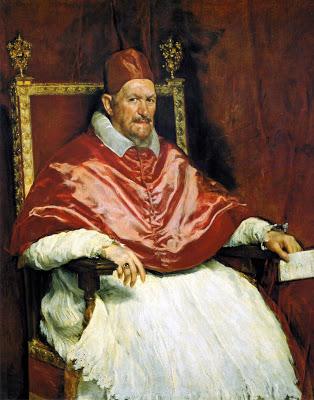 Portrait of Pope Innocent X  by Diego Velázquez