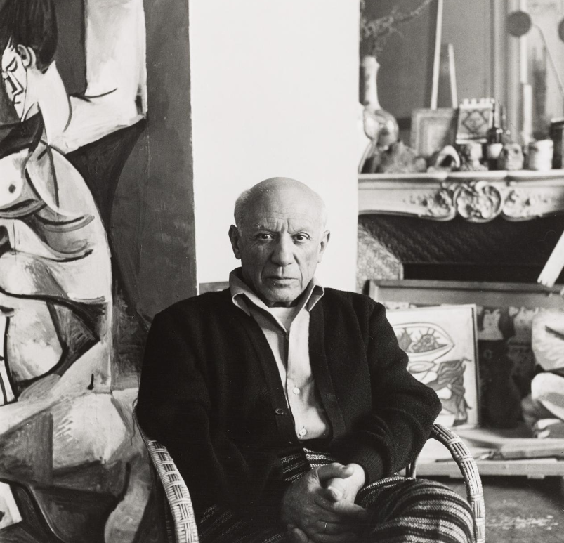 Portrait of Picasso, Cannes (1907 - 1977) © Lee Miller Archives, England 2016. All rights reserved. www.leemiller.co.uk
