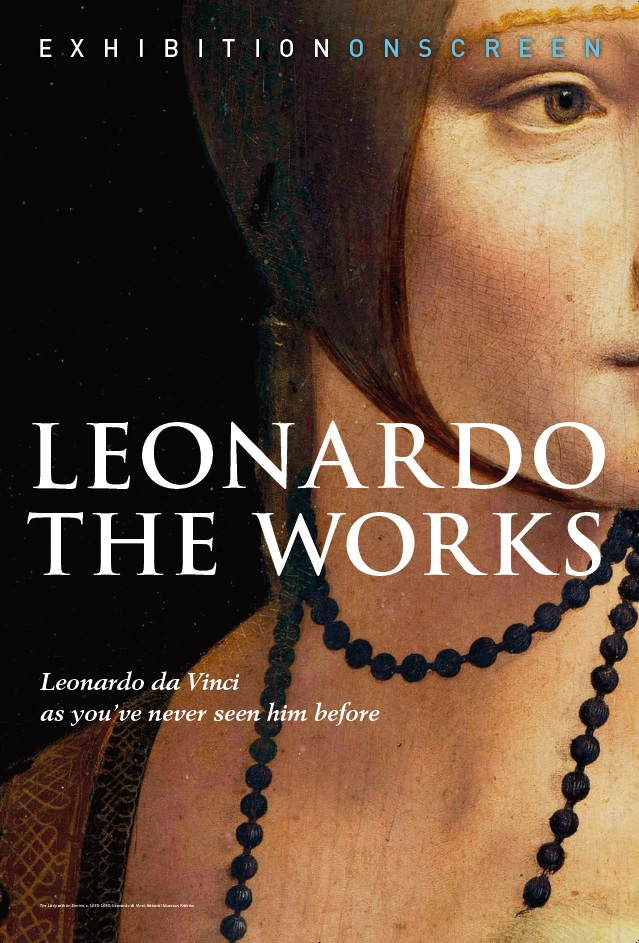 🎥 Leonardo: The Works - Leonardo da Vinci is acclaimed as the world's favourite artist. Many TV shows and feature films have showcased this extraordinary genius but often not examined closely enough is the most crucial element of all: his art. Leonardo's peerless paintings and drawings will be the focus of Leonardo: The Works, as EXHIBITION ON SCREEN presents every single attributed painting, in Ultra HD quality, never seen before on the big screen. Key works include The Mona Lisa, The Last Supper, Lady with an Ermine, Ginevra de' Benci, Madonna Litta, Virgin of the Rocks, and more than a dozen others.This film also looks afresh at Leonardo's life – his inventiveness, his sculptural skills, his military foresight and his ability to navigate the treacherous politics of the day – through the prism of his art. To be released on the 500th anniversary of his death, Leonardo: The Works offers a revealing insight into one of history's most extraordinary individuals. It will leave you amazed.Coming to a cinema near you from 29th October! Book tickets via the EXHIBITION ON SCREEN website www.exhibitiononscreen.com/find-a-screening