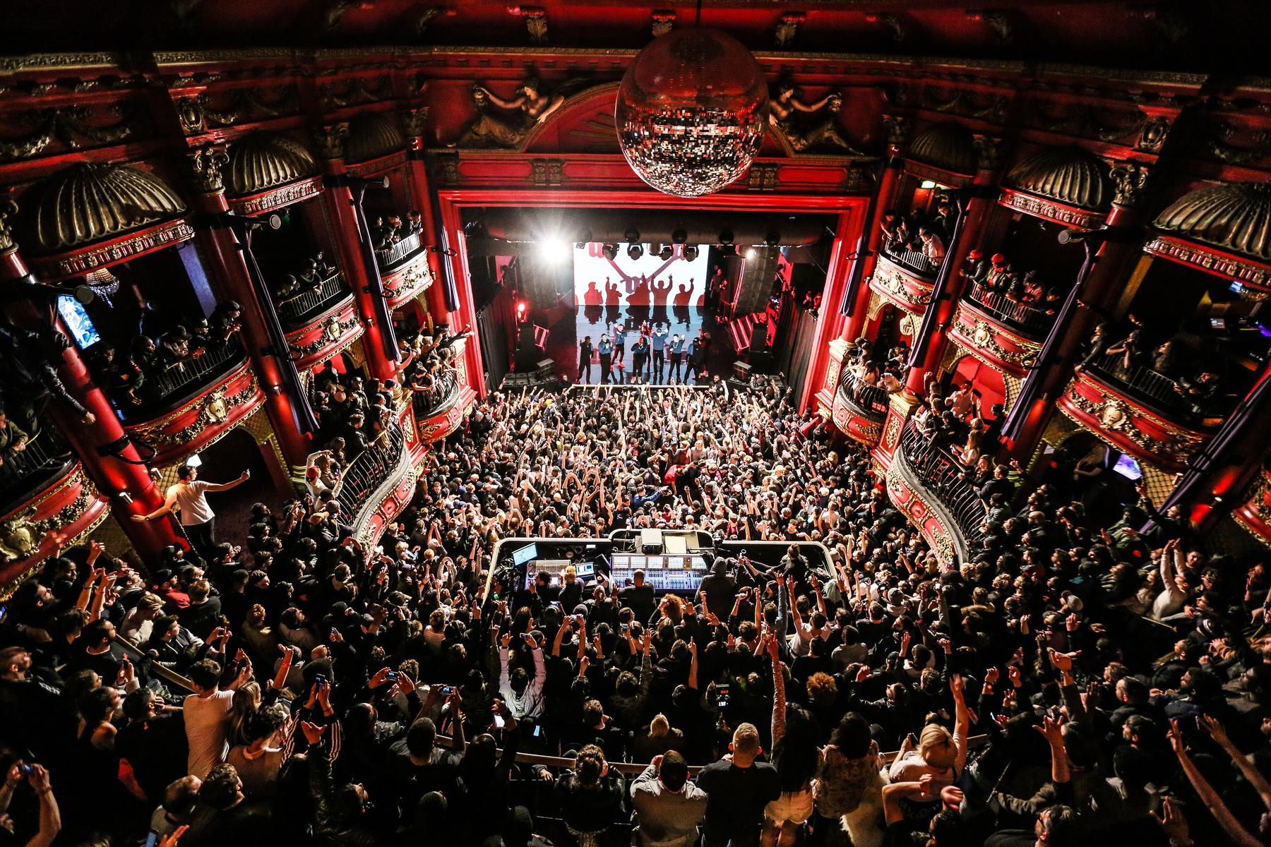 Kanye west crowd at koko london.