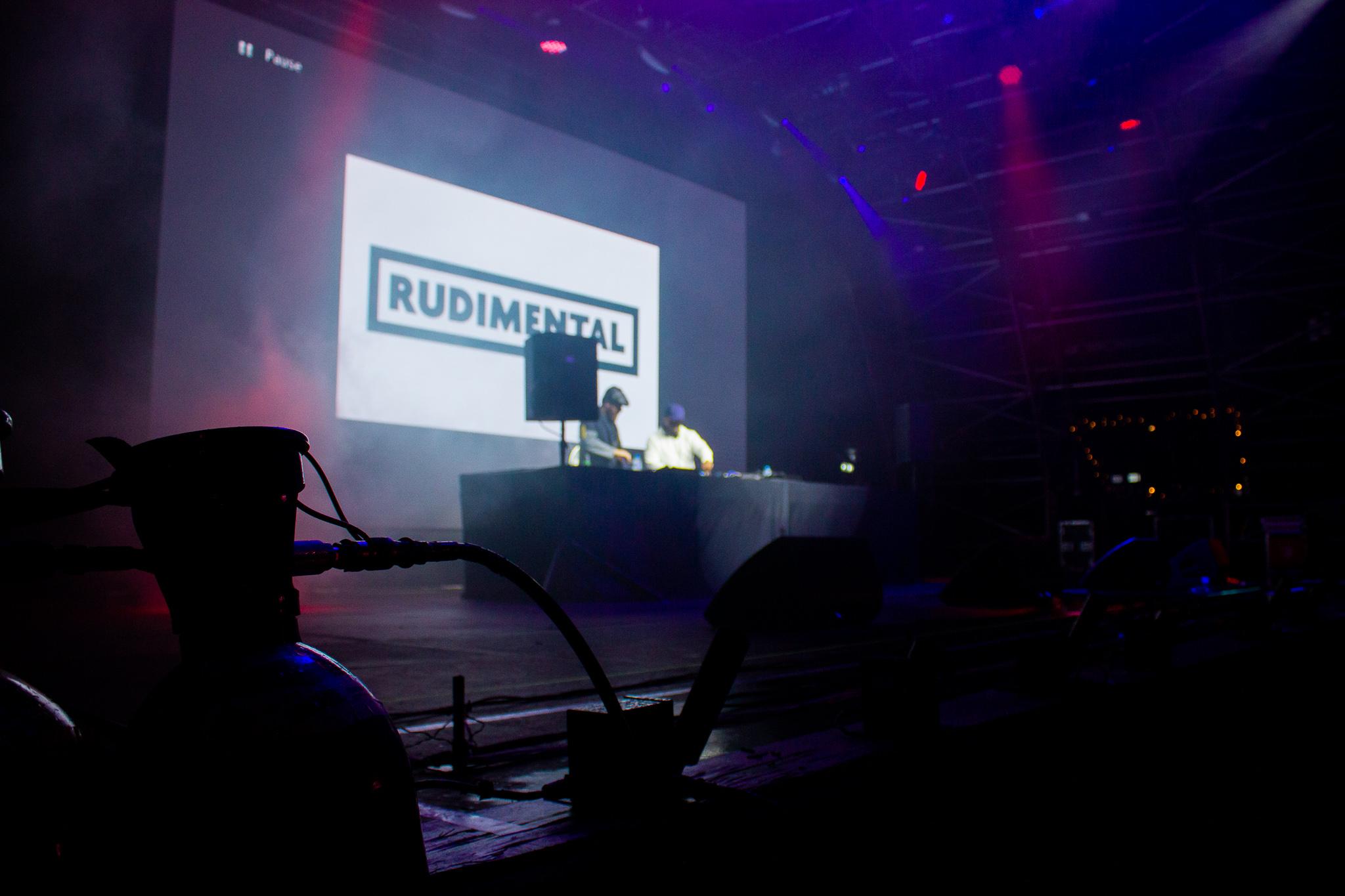rudimental on stage