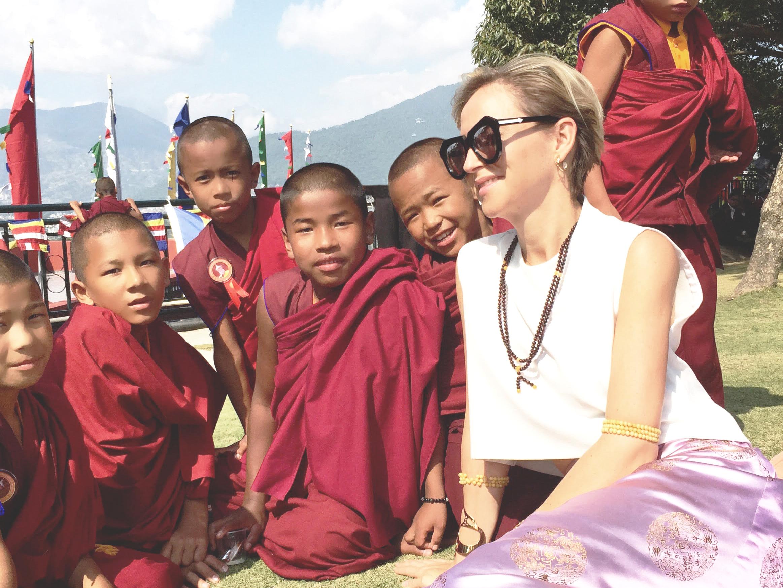 A spiritual trip to the temples in Kathmandu in Nepal.