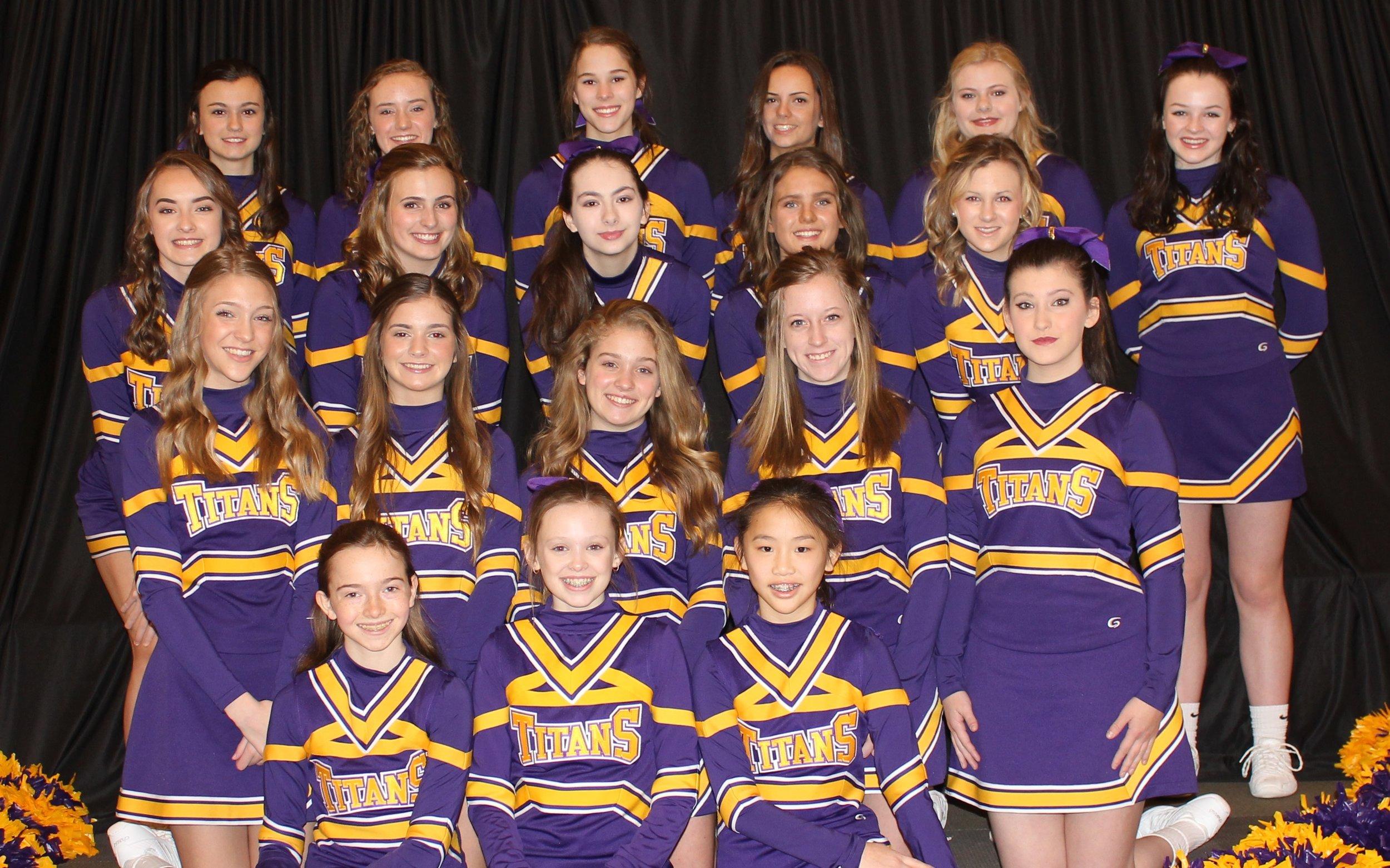 2018-19 Cheerleaders team
