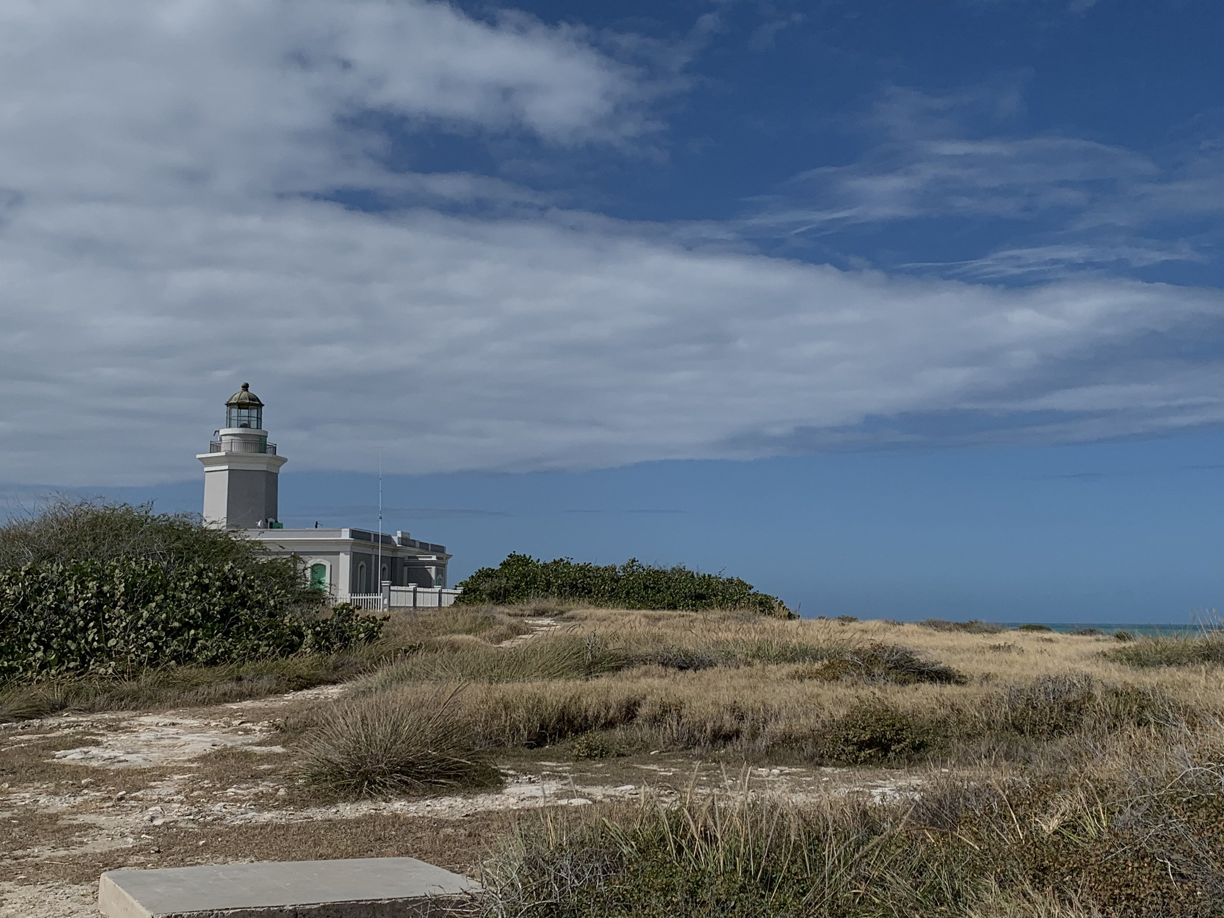 The Cabo Rojo lighthouse at Playa Sucia