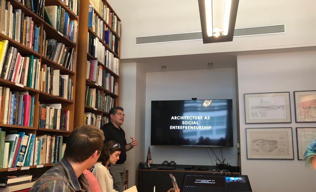 Presentation at Marvel Marchand